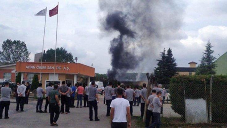 Fabrikanın kazan dairesinde patlama: Biri ağır 2 işçi yaralı