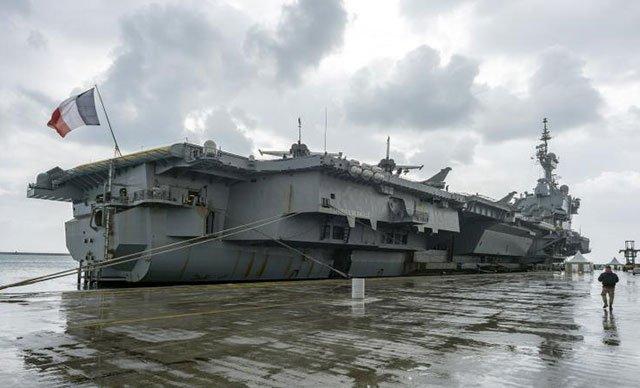 Fransa savaş gemisini Kıbrıs'a gönderdi