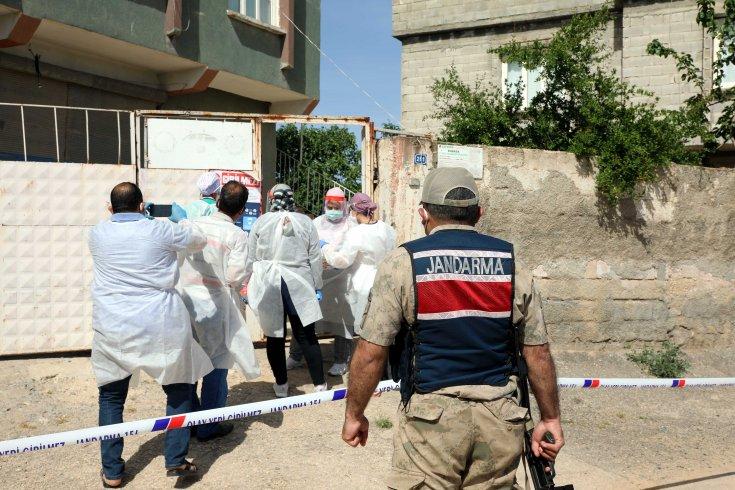 Gaziantep'te 2 ev karantinaya alındı