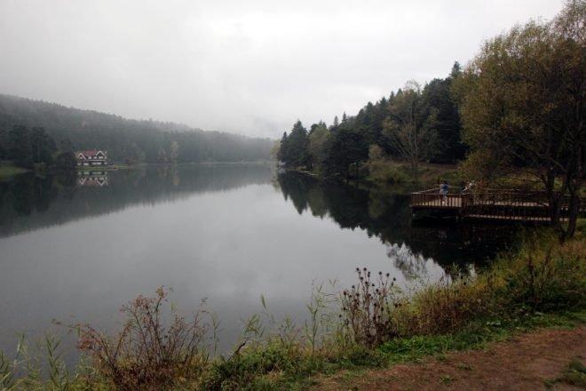 Gölcük Tabiat Parkı'nda sonbahar güzelliği