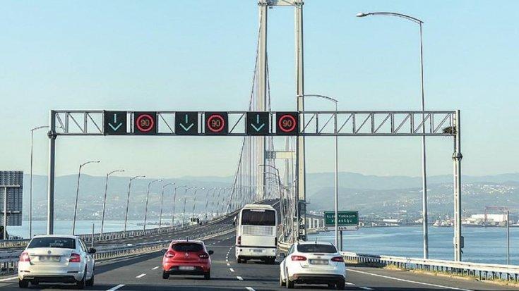 Hazine garantili yapılan pahalı köprülerden geçmek zorunda kalan kamyon ve otobüs şoförleri icralık oldu