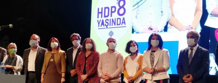 HDP, 8. kuruluş yıl dönümünü kutladı