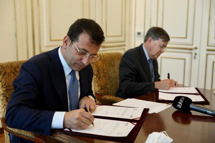 İBB ve USTDA arasında 5 milyon dolarlık hibe anlaşması imzalandı