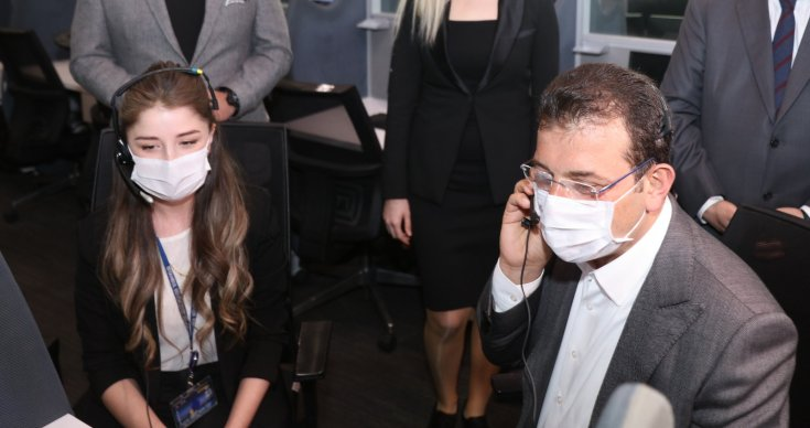 """İBB'nin pandemi sürecindeki ''Kriz yönetimine""""'ne Uluslararası Altın Küre ödülü"""