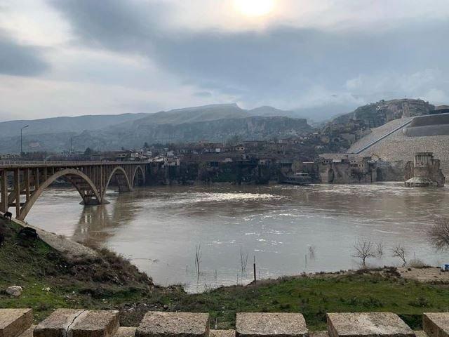 Ilısu Barajı'nda su seviyesi yükseliyor, Hasankeyf tehdit altında