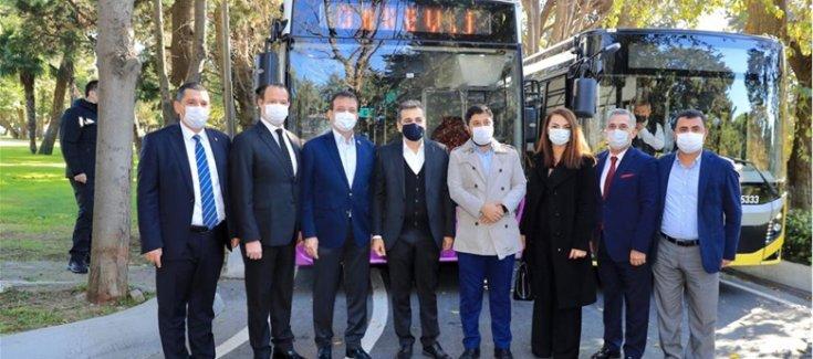 """İBB başkanı Ekrem İmamoğlu, İBB'ye bağlı İETT, Özel Halk Otobüsü şirketleri ile """"dönüşüm"""" anlaşması imzaladı; '16 milyona daha iyi hizmet için yenilikleri tartışmak zorundayız'"""