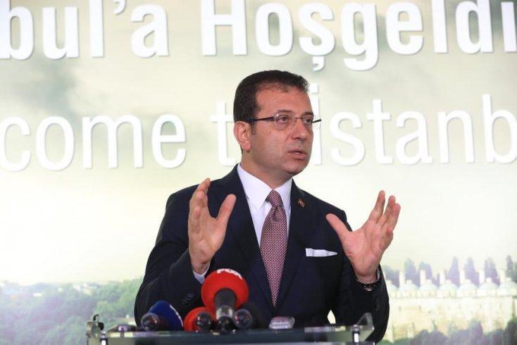 """İmamoğlu acı haberi verdi; """"Covid_19'dan İBB Ağaç AŞ'de çalışan arkadaşımız Süleyman İleri'yi kaybettik. Tedavi gören 161 arkadaşımız var"""""""