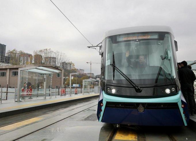 Alibeyköy-Cibali tramvay hattı 1 Ocak'ta hizmete giriyor