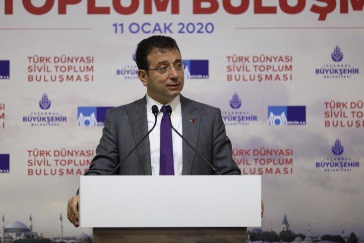 İmamoğlu: Bakan'a hatırlatayım, bakanlık ne kadar devletse İstanbul Büyükşehir Belediyesi de o kadar devlet