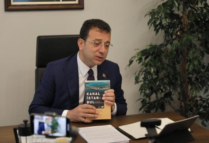 İmamoğlu: İBB'nin 2009'da 'Kesinlikle yapılmamalı' dediği her şey Kanal İstanbul projesinde var