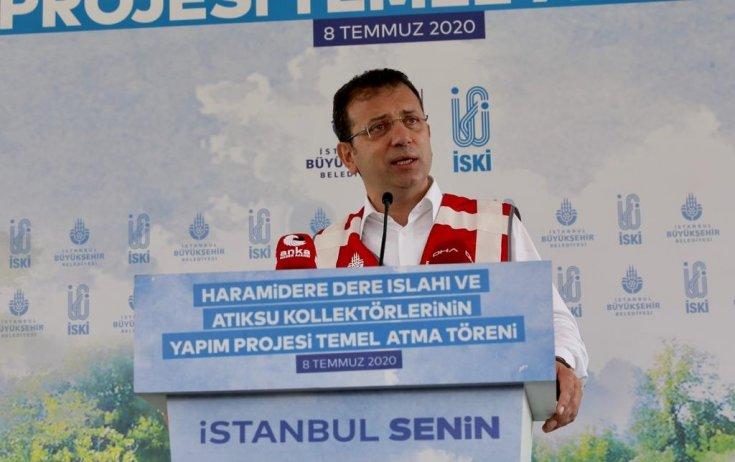 İmamoğlu: Kanal İstanbul istanbul'a bin kat daha fazla ihanettir