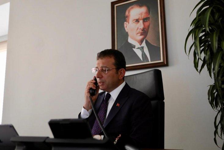 İmamoğlu'ndan, Beyrut Belediye Başkanı Itanı'ya: Kaybettiğiniz insanların acısını biz de hissediyoruz