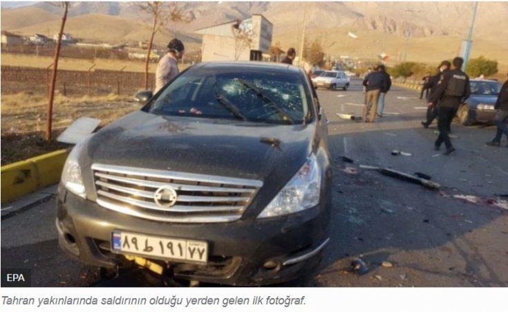 İran'ın nükleer programının mimarı Muhsin Fahrizade uğradığı suikast sonucu hayatını kaybetti