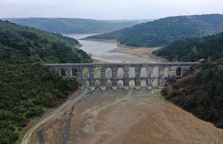 İSKİ: İstanbul'un içme suyu kaynaklarının doluluk oranı yüzde 21,92