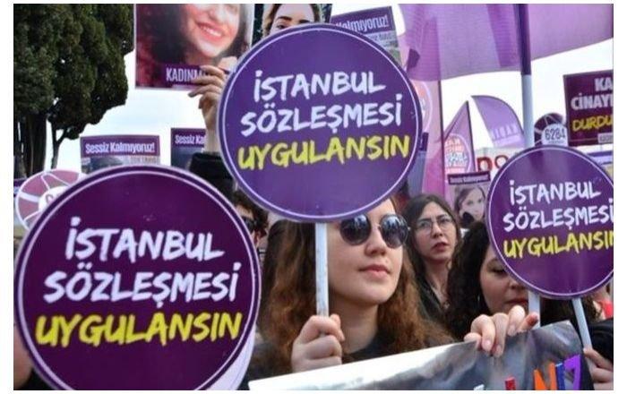 'İstanbul Sözleşmesi' forumuna katılan 8 kadın gözaltına alındı