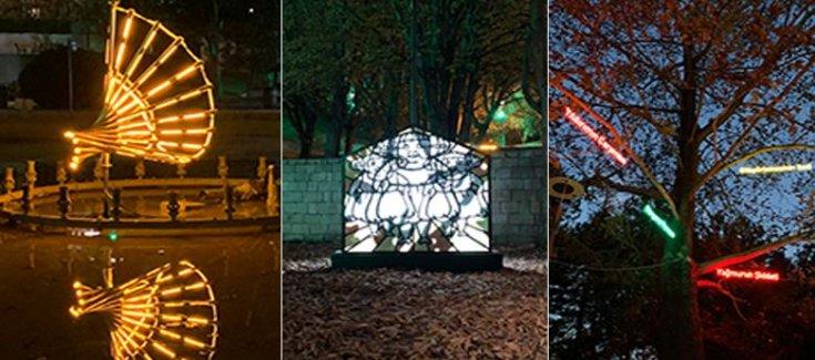 İstanbul'da sanat ışıkla buluşuyor