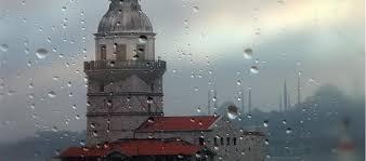 İstanbul'da yağış sonrasında güneş var
