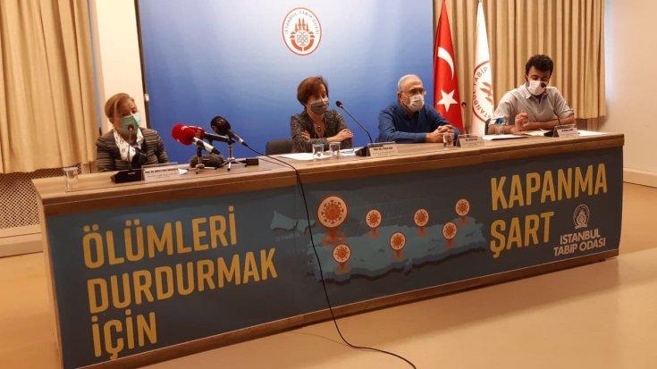 İTO'dan salgın raporu: Açıklanan önlemler yetersiz, ölümleri durdurmak için kapanma şart
