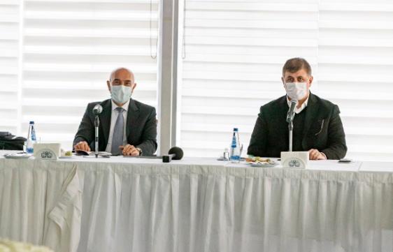 İzmir Büyükşehir Belediyesi'nden ilçe belediyelerinin projelerine tam destek