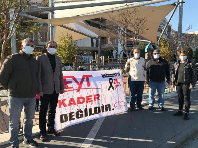 İzmir EYT Derneği: Mücadelemize sonuç alıncaya kadar devam edeceğiz