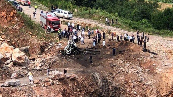 Jandarmadan Sakarya'daki patlamaya ilişkin açıklama