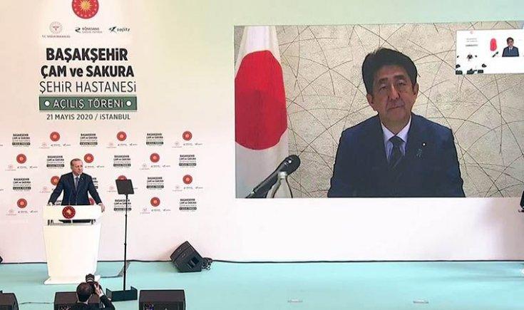 Japonya Başbakanı: Geliştirdiğimiz ilacı Türkiye'ye bağışlıyoruz