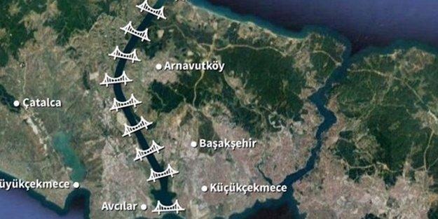 'Kanal İstanbul projesiyle 38 bin 500 hektar alan betonlaşacak'