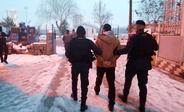 Kayseri'de HTŞ operasyonu: 2 gözaltı