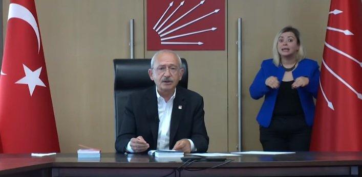 Kılıçdaroğlu: CHP'li belediyeler, Covid-19 sürecinde gerçekten tarih yazıyor