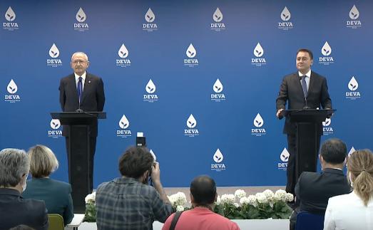 Kılıçdaroğlu'nun Babacan'ı ziyaretinin ardından iki liderden ortak açıklama