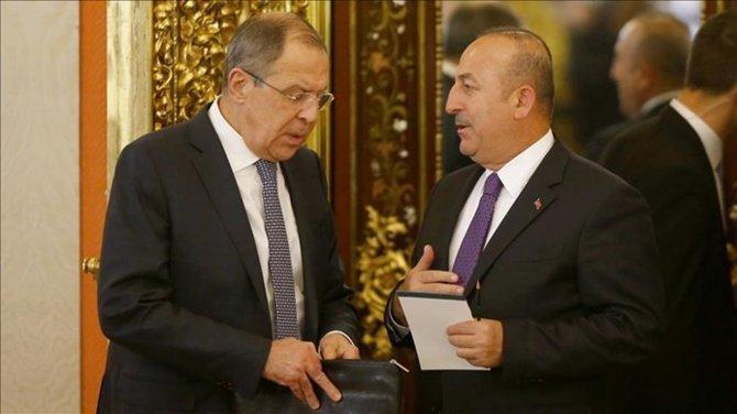 'Lavrov ile Çavuşoğlu'nun Almanya'da bir araya gelmeleri bekleniyor'