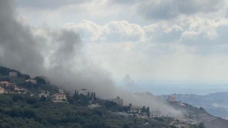 Lübnan'da Hizbullah'a ait bir evde patlama