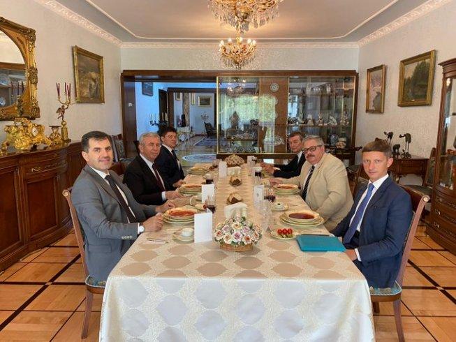Mansur Yavaş'tan, Rusya'nın Ankara Büyükelçiliği'ne ziyaret