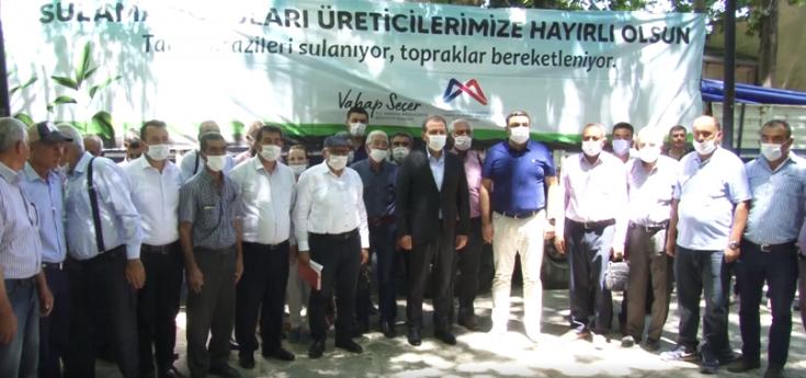Mersin Büyükşehir Belediyesi'nden üreticiye destek