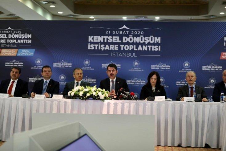 Murat Kurum: Siyaset üstü bakış açısıyla kentsel dönüşümü başaracağız