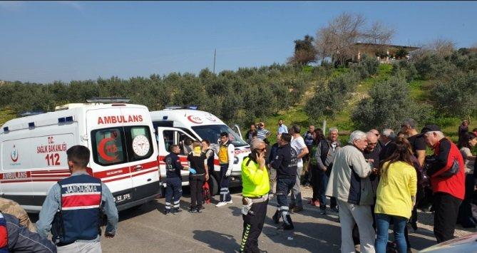 Osmaniye'de otobüs şarampole devrildi: 35 yaralı