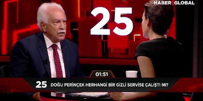 Perinçek 'Gizli servis' sorusuna kızdı: Hangi cesaretle ülkenin en karakterli insanına bunu sorabiliyorsunuz