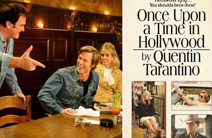 Quentin Tarantino iki kitap hazırlığında