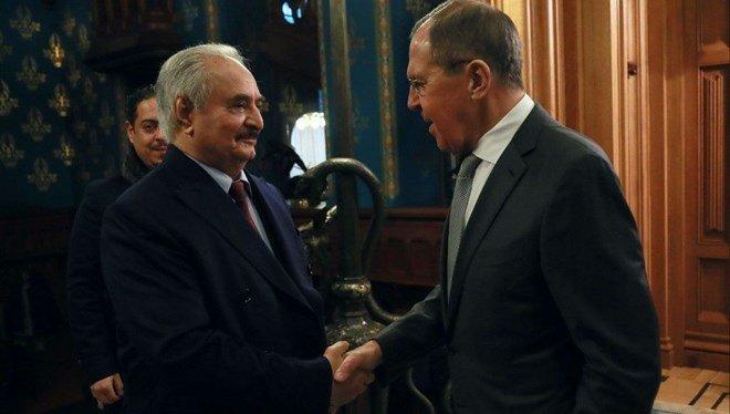 Rusya: Hafter ateşkesi imzalamadan Moskova'dan ayrıldı