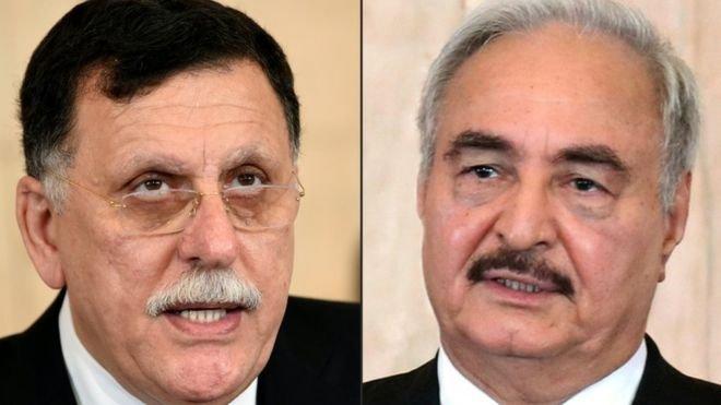 Sarraj ve Hafter'in bugün Moskova'da ateşkes anlaşması imzalaması bekleniyor