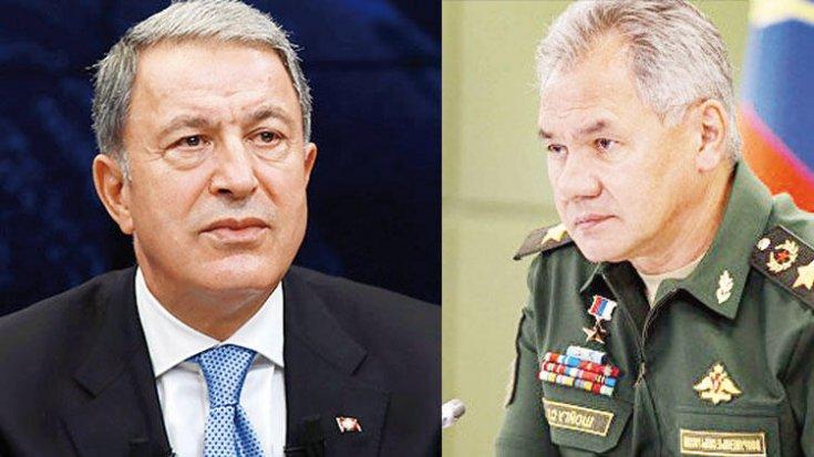 Şoygu'dan Akar'a: Ortadoğu'daki militanların Dağlık Karabağ'a gönderildiği bilgisinden endişe duyuyoruz