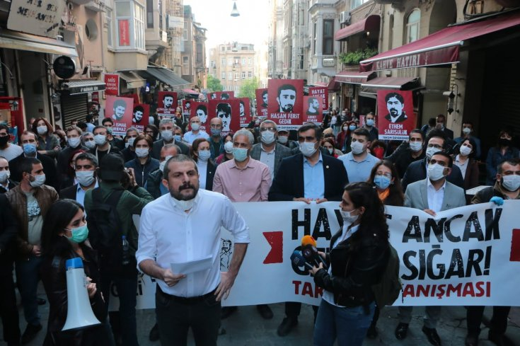Taksim Dayanışması'ndan Gezi'nin 7. yılında İstiklal'de açıklama