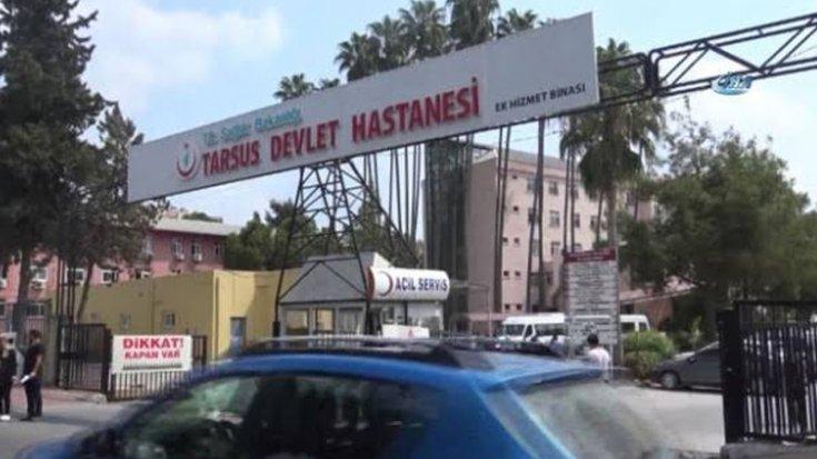 Tarsus'da devlet hastanesinde patlama: 2'si ağır 5 kişi yaralandı