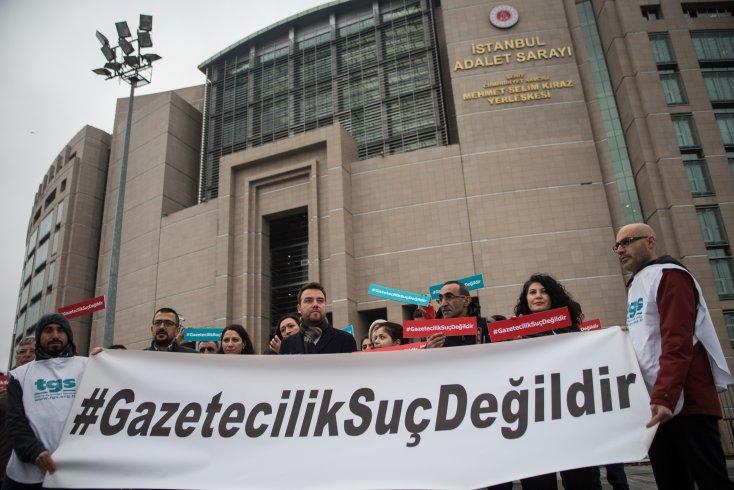 TGS'den gazetecilerin tutuklanmasına tepki