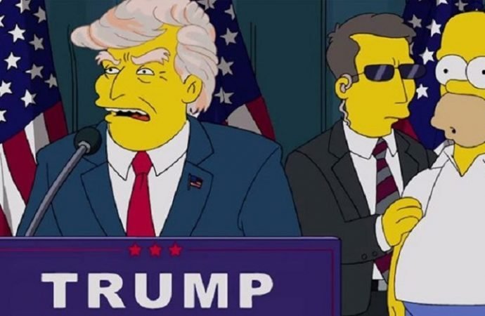 'The Simpsons', Trump'a oy verilmemesi için 50 neden sıraladı