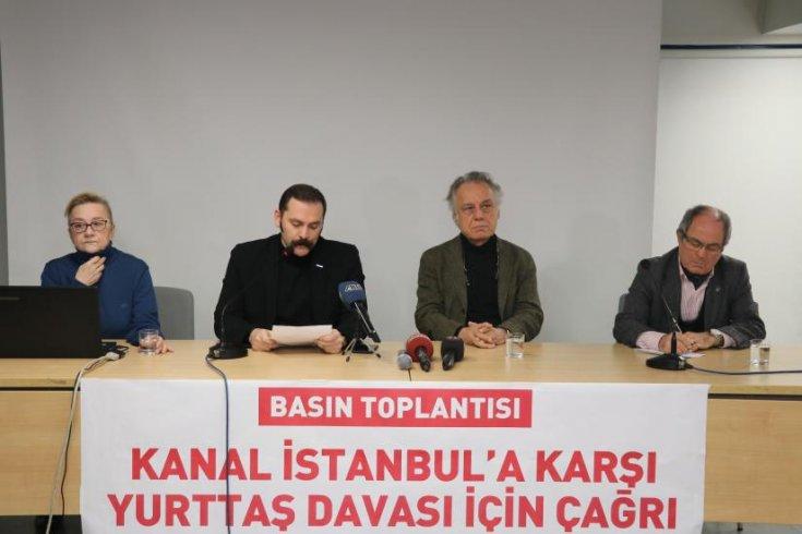 TMMOB İstanbul İl Koordinasyon Kurulu'ndan Kanal İstanbul'a karşı yurttaş davası çağrısı