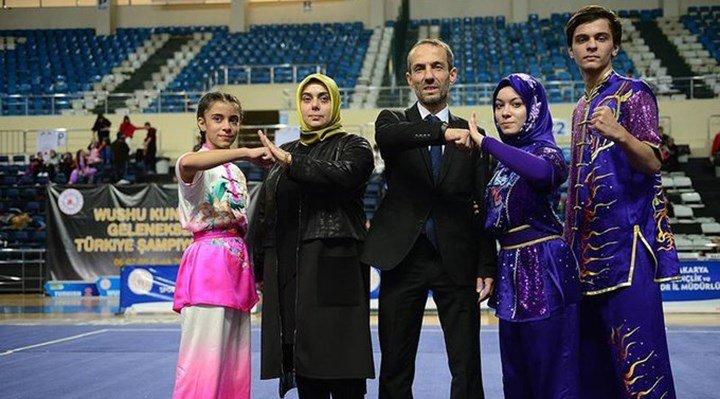 Türkiye Wushu Federasyonu'nda yeni skandal: Başkanın kızı hem hakem hem sporcu hem şampiyon oldu!