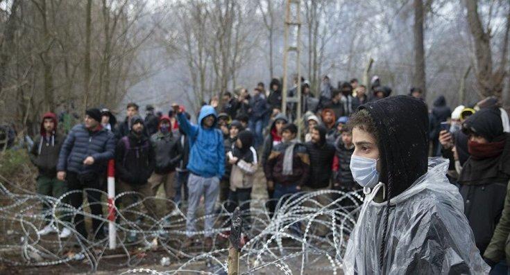 Uluslararası Mülteci Hakları Derneği: 50 bin göçmen sınır kapılarına geldi