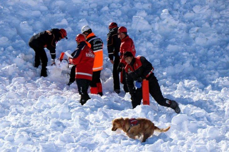Van'da çığ altında kalan 4 kişinin cansız bedenine ulaşıldı