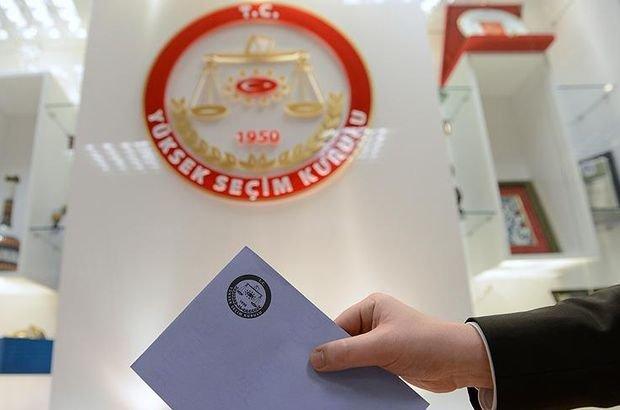 YSK seçime girecek partileri açıkladı: Davutoğlu'nun partisi listede yok